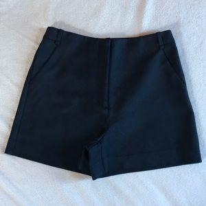 ZARA navy blue shorts.